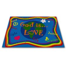 God Is Love Kids Rug