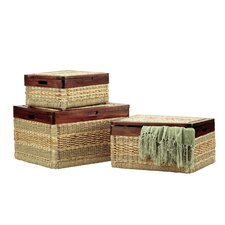 Picnic Basket (Set of 3)
