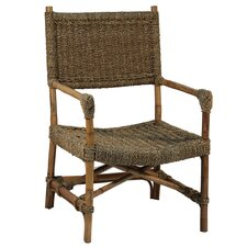 Simple Seagrass Arm Chair
