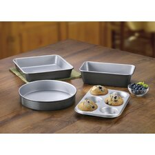 Chef's Classic™ Stainless Cookware 4 Piece Non-Stick Bakeware Set