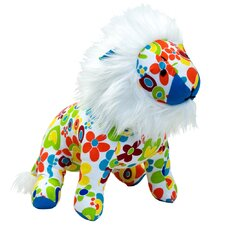 Color Zoo Lee the Lion Stuffed Toy