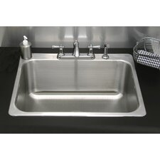 "31"" x 25"" Drop-In Utility Sink"