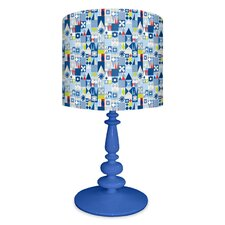 It's a Small World Facade Table Lamp