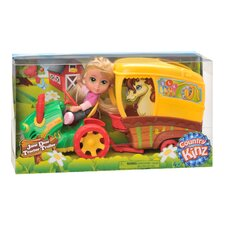 Country Kinz 4 Piece Jane Dear Tractor Set