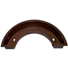 "40"" x 21"" San Tropez Horseshoe Bar Sink"