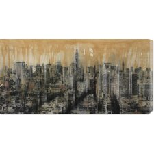'NYC6' by Dario Moschetta Stretched Canvas Art