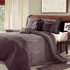 Poppy Flower 12 Piece Comforter Set