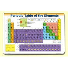 Periodic Table of Elements Placemat (Set of 4)
