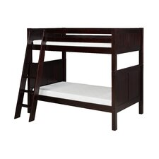 Twin Standard Bunk Bed with Angle Ladder