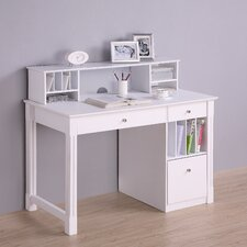 Deluxe Writing Desk with Hutch