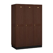 Executive Single Tier 3 Wide Locker