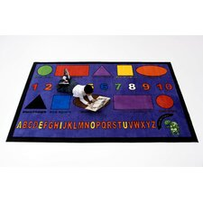 Charlie Shapes Kids Rug
