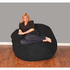 Wildon Home Bean Bag Chair and Ottoman