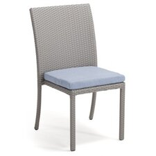 Brisbane Stacking Dining Side Chair with Cushion