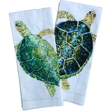 Sea Turtle Tea Towels (Set of 2)
