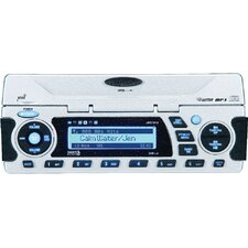 Waterproof AM / FM / CD / USB / iPod / Weatherband / SiriusSatellite Ready Stereo