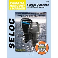 Yamaha, Mercury, Mariner Outboard, 1995 - 2004 Repair and Tune-Up Manual