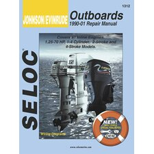 Johnson, Evinrude Outboard, 1990 - 2001 Repair and Tune-Up Manual