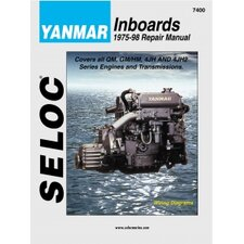 Yanmar Inboard, 1975 - 1998 Repair and Tune-Up Manual