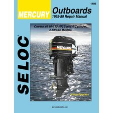 Mercury Outboard, 1965 - 1989 Repair and Tune-Up Manual