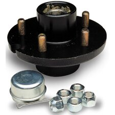 Replacement 4-Bolt Wheel Hub Kit