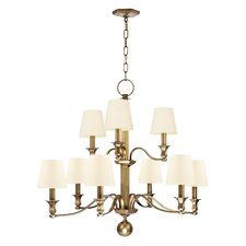 Charlotte 9 Light Chandelier