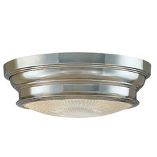 Woodstock 2 Light Flush Mount