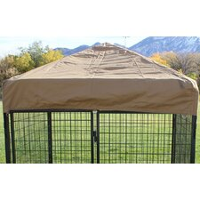 Basic Heavy-Duty Canvas Top for Dog Kennel