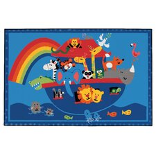 Noah's Animals Kids Rug