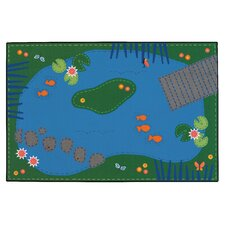Tranquil Pond Kids Rug
