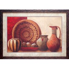 Basket and Vessels Wall Art