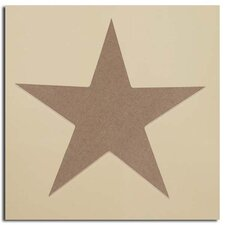 "Wood Symbol ""STAR"" (Set of 48)"
