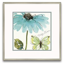 Flora Moderna Morning Dew I Wall Art