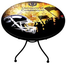 NCAA Football Solid Base Bucket Table