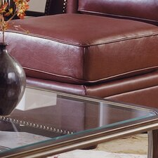 Troon Leather Ottoman