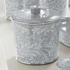 Bedminister Scroll Cotton Jar