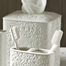 Bedminster Damask Tissue Holder