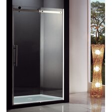 Eva I Sliding Door Shower with Base