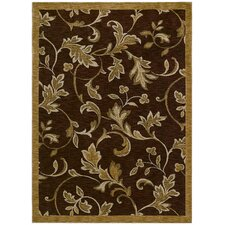 Home Nylon Garden Gate Cranberry Rug
