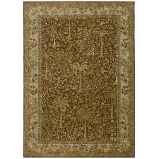 Home Nylon Spice Monaco Palms Rug