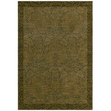 Home Nylon Ocean Seaspray Damask Rug