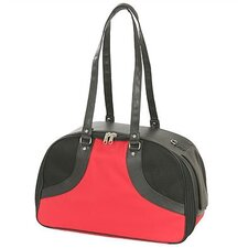 Classic Roxy Pet Carrier in Red Milan