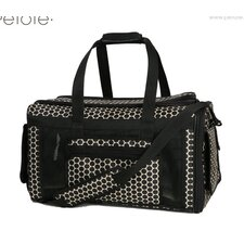 Carle Pet Carrier in Reverse Noir Dots