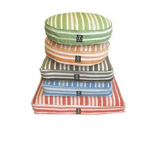 Eco-Friendly Organic Hemp Striped Pet Bed