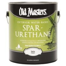 1 Gallon Water Based Spar Urethane Satin