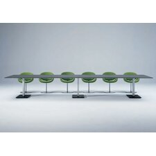 Bridge Rectangle Bipartite Table by Arnold Merckx
