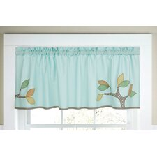 Little Tree Cotton Rod Pocket Tailored Curtain Valance