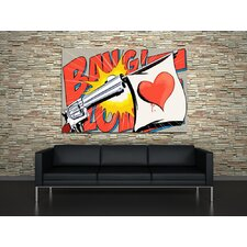 Love Gun Canvas Print