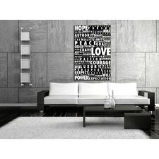 Words Speak Canvas Print