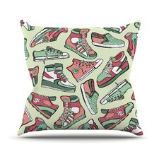 Sneaker Lover II Throw Pillow